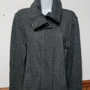 Outerwear collar block jacket